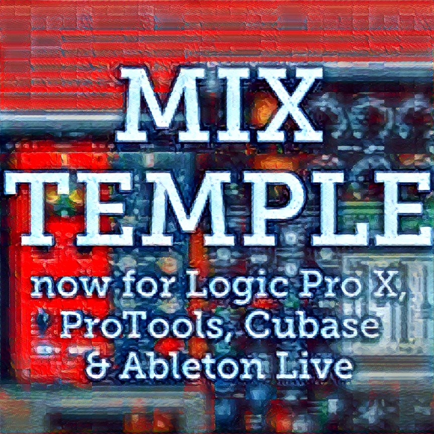 mix temple templates Logic Pro x protools cubase ableton live